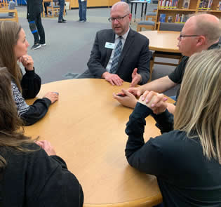 Dr. Tucker Meeting with Staff